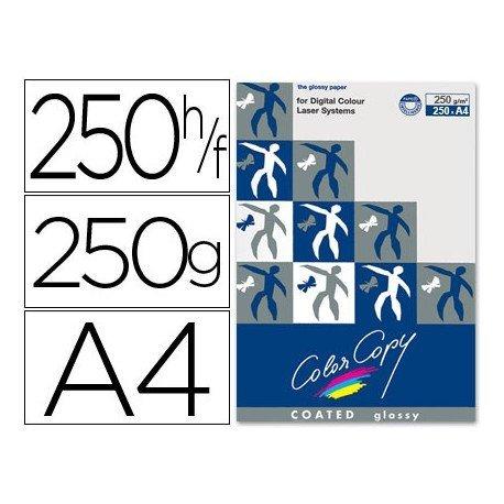 Papel multifuncion Mondi Color Copy A4 250 gr/m2 Brillo