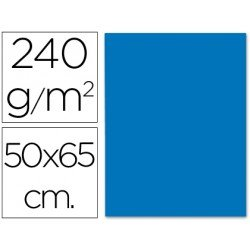 Cartulina Liderpapel color azul 240 g/m2
