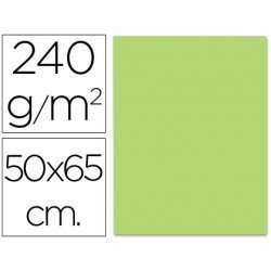 Cartulina Liderpapel color verde hierba 240 g/m2