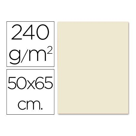 Cartulina Liderpapel color sepia 240 g/m2