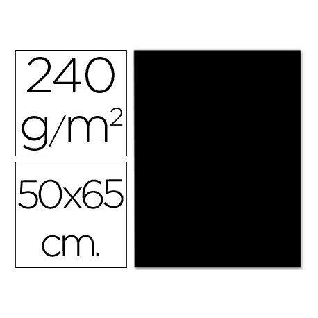 Cartulina Liderpapel color negro 240 g/m2