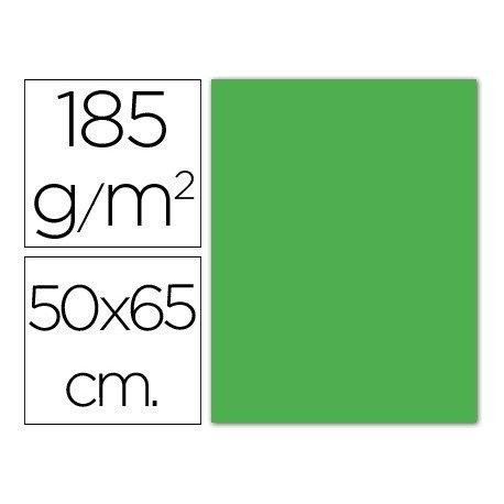 Cartulina Guarro 500 x 650 mm 185 g/m2 verde