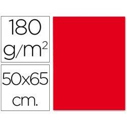 Cartulina Liderpapel 180 g/m2 rojo navidad