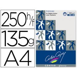 Papel multifuncion Mondi Color Copy A4 135 gr/m2 Brillo