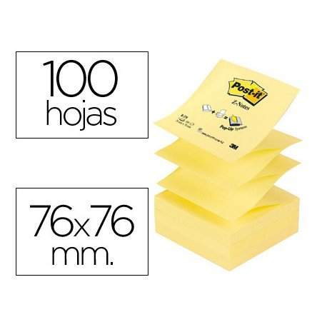 Post-it ® Bloc de notas adhesivas Z-Notes