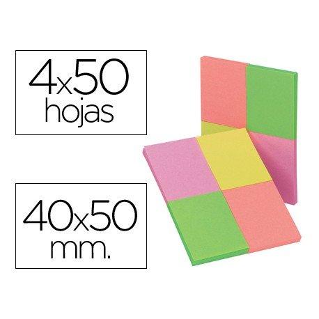 Bloc de notas adhesivas Q-Connect