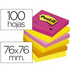 Bloc quita y pon Post-it ® colores surtidos