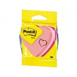 Bloc quita y pon Post-it ® forma de corazon