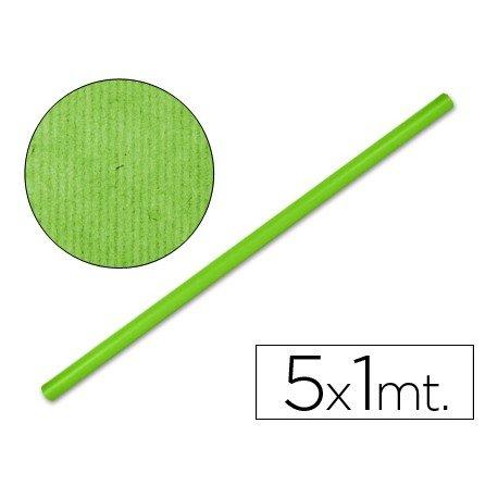 Bobina papel tipo kraft Liderpapel 5 x 1 m verde