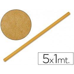 Bobina papel tipo kraft Liderpapel 5 x 1 m naranja