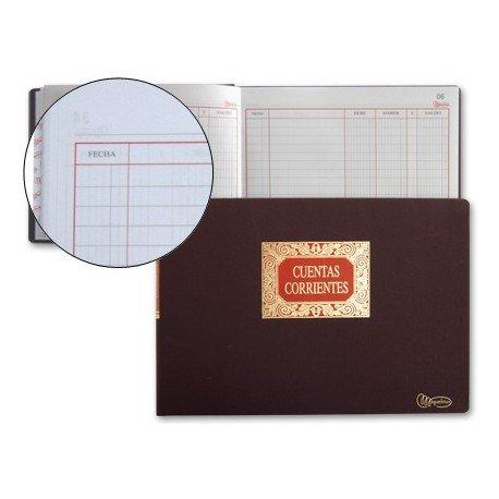 Libro Miquelrius tamaño Folio Cuentas Corrientes