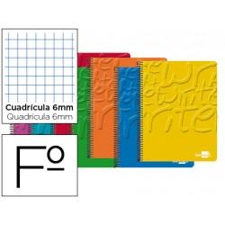 Bloc marca Liderpapel folio Write cuadricula 6 mm