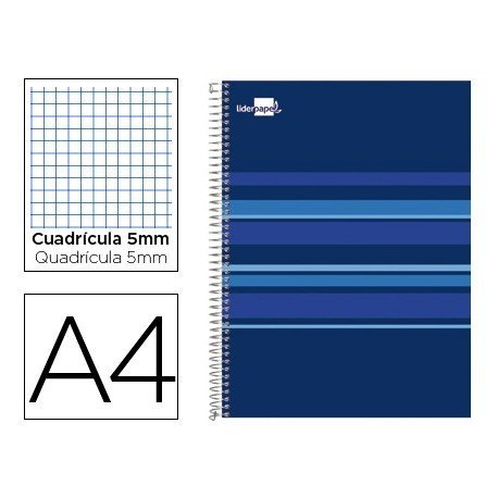 Bloc Din A4 espiral Microperforado serie Classic marca Liderpapel