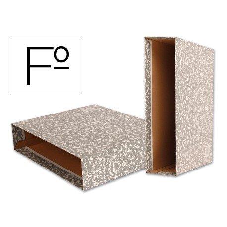 Caja archivador de palanca marca Liderpapel Classic Red Folio