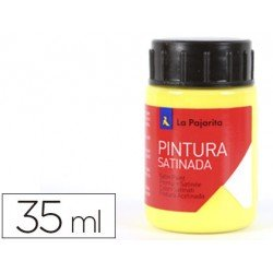 Pintura latex La Pajarita color amarillo limon