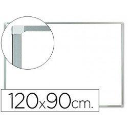 Pizarra Blanca de Melamina con marco de aluminio 120x90 Q-Connect