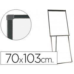Pizarra  Q-Connect tripode marco de aluminio negro 103x70 cm