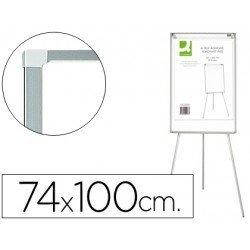 Pizarra Q-Connect magnética con trípode extensible 74x100 cm
