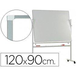 Pizarra Blanca de Melamina con ruedas 120x90 Q-Connect