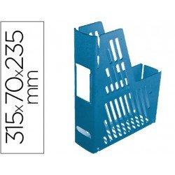 Revistero plastico azul archivo 2000