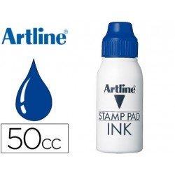 Tinta tampon marca Artiline azul de 50 cc