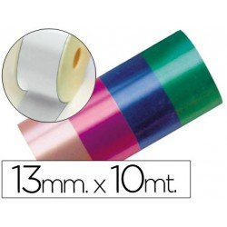 Cinta fantasia color blanco 13 mm