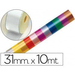Cinta fantasia color blanco 31 mm