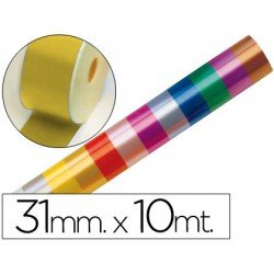 Cinta fantasia color oro 31mm