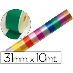 Cinta fantasia color verde 31 mm