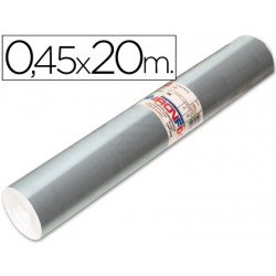 Aironfix Rollo Adhesivo 45cm x 20mt Especial Plata 100 MC