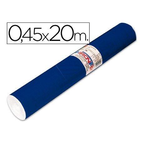 Aironfix Rollo Adhesivo 45cm x 20mt Unicolor Azul Mate Oscuro 100 MC