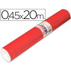 Aironfix Rollo Adhesivo 45cm x 20mt Unicolor Rojo Mate Claro 100 MC