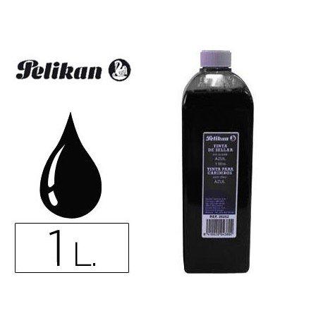Tinta tampon PELIKAN Negro de 1 litro