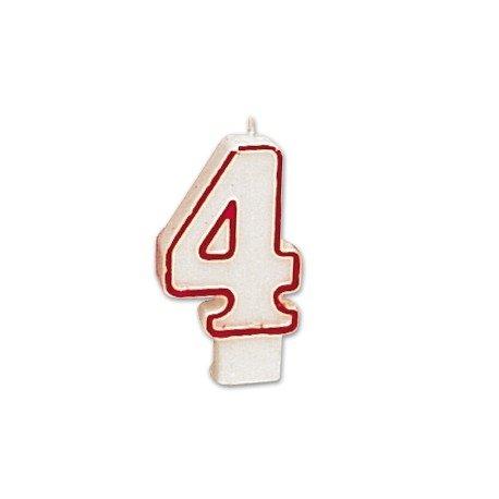 Velas cumpleaños numero 4