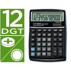 Calculadora Sobremesa Citizen Modelo SDC-4310 12 digitos