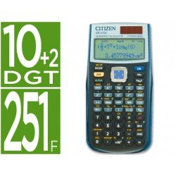 Calculadora Cientifica Citizen Modelo SR-270X 10+2 digitos