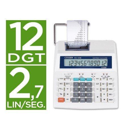 Calculadora Impresora Citizen Modelo CX-123N