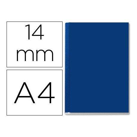 Tapa de Encuadernación Cartón Leitz DIN A4 Azul 106/140 hojas