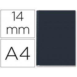 Tapa de Encuadernación Cartón Leitz DIN A4 Negra 106/140 hojas