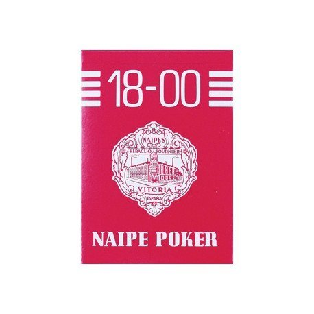 Baraja Poker Ingles y Bridge Nº18-00 marca Fournier