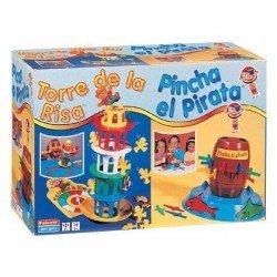 Torre de la risa + Pinchapirata Falomir Juegos