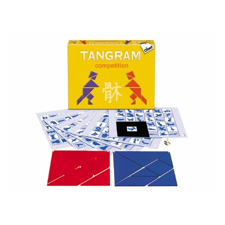 Juego de mesa Tangram Competition Diset