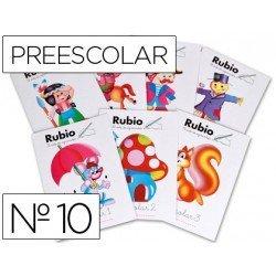 Cuaderno Rubio preescolar Nº10