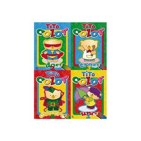 Cuaderno Tito Color 16 páginas 4 títulos (NO SE PUEDE ESCOGER)
