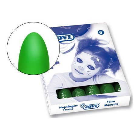 Barra maquillaje Jovi color  verde oscuro