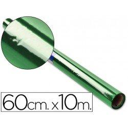 Papel celofan marca Liderpapel 60cmx10m verde