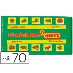 Plastilina Jovi color verde claro pequeña