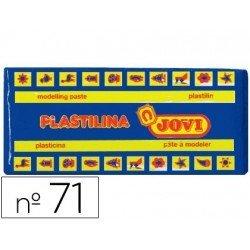 Plastilina Jovi color Azul oscuro mediano
