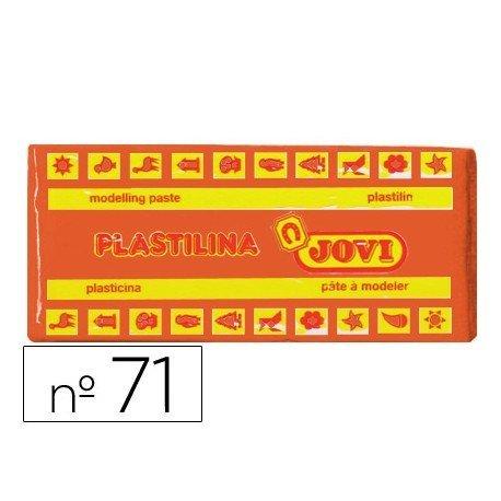 Plastilina Jovi color Naranja mediano