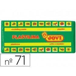 Plastilina Jovi color Verde claro mediano